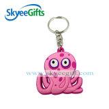 Custom Design Eco-Friendly and Soft PVC Keyring Keychain