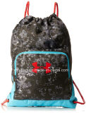 Fashion Polyester Draw String Tralve Bag Backpack