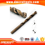 Amber Finish HSS Cobalt Fully Ground Twist Drill
