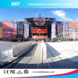 IP65 Wateproof P10 Outdoor Rental LED Display Screen for Show
