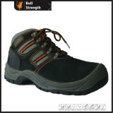 Suede Leather Safety Boot with Steel Toe Cap (SN1229)