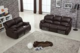 Electric Function Genuine Leather Recliner Leather Sofa