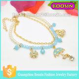 Fashion European Beautiful Beaded Bracelets/Flower Crystal Bead Stretchy Bracelet