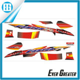 Wholesale Flame Red Line Motorcycle Decal Airframe Sticker