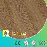 12.3mm Vinyl Plank White Oak Walnut V-Grooved Waterproof Laminate Wooden Flooring