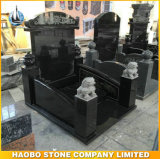 Black Granite Chinese Style Tombstones