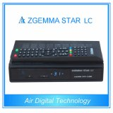 Full Channels Softwares Zgemma Star LC FTA Satellite Receiver with DVB-C One Tuner at Low Cost