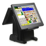Tower Double Screen Touch POS Machine