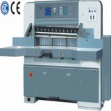 Program Control Double Hydraulic Double Guide Paper Cutting Machine (QZYK1370D-5)