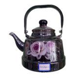 Enamel Teapot, Kitchen Utensils, Enameled Kettle, Steel Enamel Kettle