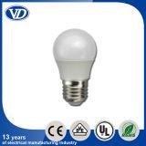 E27 Plastic Covering aluminium LED Bulb 3W