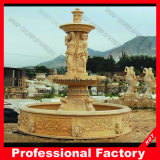 Stone Marble Carving Water Fountain for Garden