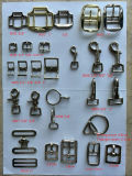 3-Way Square/Buckles /Dog Hooks /O-Ring Metal Accessories for Harness