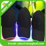 Black Custom Flash Logo Snapback Hat