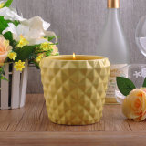 New Arrival Applepine Shaped Large Ceramic Candle Holders