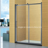 Hottest Selling Eight Angle Wheel Bathroom Shower Room Screen (A-894)