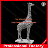 Giraffe Marble Animal Sculpture for Garden Decoration