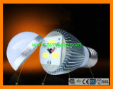7W COB LED Bulb Lamp with Ra>80