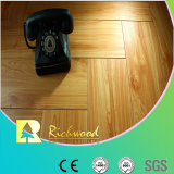 Household 12.3mm Embossed Hickory Waxed Edged Lamianted Flooring
