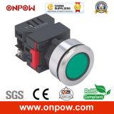 Onpow 30mm Signal Lamp (LAS0-K30-D/R/12V/S, CE, CCC, RoHS)