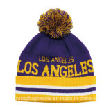 All Custom Winter Knitted POM Prom Team Beanie
