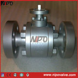 API 6D Forged Steel A105 Floating Ball Valve