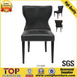 Hot Sale Restaurant Curve Cushion Aluminum Banquet Chair
