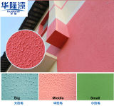 Hualong Flexible Sgraffito Texture Exterior Wall Paint/ Decoration Coating