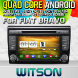 Witson S160 for FIAT Bravo Car DVD GPS Player with Rk3188 Quad Core HD 1024X600 Screen 16GB Flash 1080P WiFi 3G Front DVR DVB-T Mirror-Link Pip (W2-M250)