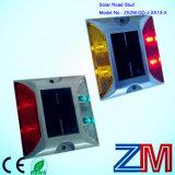 Square Shape Reflective Aluminum Solar Road Stud / Road Marker