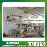 CE Approved 1tph Wood Pellet Production Line with High Efficiency