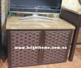TV Cabinet Rattan Wicker Hotel Furniture Bp-TV30