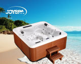 China Factory Wholesale Balboa SPA Acrylic Whirlpool Outdoor SPA Hot Tub With2 Loungers
