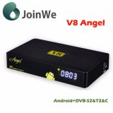 HD 1080P Android 4.4 +DVB S+T+C Satellite Receiver V8 Angel