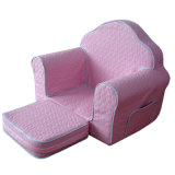 Playroom Kids Furniture with Ottoman/Baby Furniture/Children Fabric Sofa (SXBB-223)