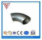 Stainless 304 Sanitary Fitting 45 Degree Polished Weld Short Elbow