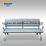 Top Quality Metal Aluminum Slat Garden Benches, Aluminum Chair with Back