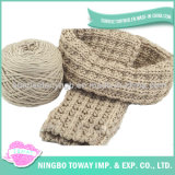 Knitted Woven Cotton Warm Lady Acrylic Shawl Scarf