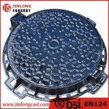 Heavy Duty Round Ductile Iron Manhole Cover and Frame En124 D400
