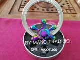 Colorful Six Points High-End Finger Top Brass Spinner Toy