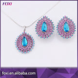 China Wholesale Crystal Jewelry Sets Semi Jewels in China