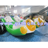 High Quality 3m Inflatable Banana Boat/Inflatable Water Games Flyfish Banana Boat