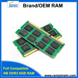 Low Density 512MB*8/16c Memory RAM DDR3 8GB SODIMM