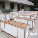 Kingkonree Pure White Artificial Stone Solid Surface Wall Panel