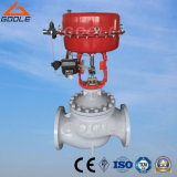 Pneumatic Globe Control Valve with Single Seat Type
