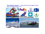 Consolidate Shipping Service From China to Mombasa, Colombo