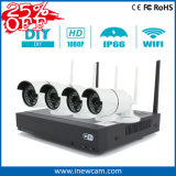 Promotion 4CH 1080P Wireless IP Camera NVR Kits Security System