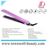 40W PTC Hair Flat Iron with LED Indicator and Lockable Handle Factory Wholesale