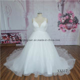 Ball Gown Sexy Tulle Wedding Dress