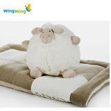 China Factory White Sheep Plush Ball Toy Custom Cute Stuffed Soft Plush Lamb